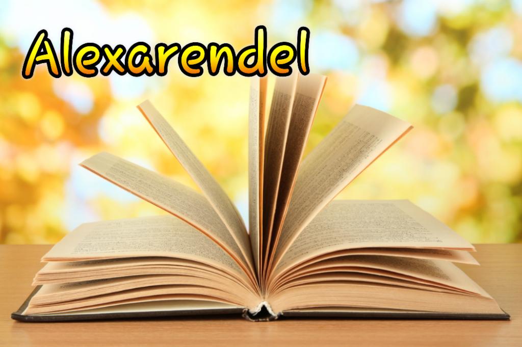 Alexarendel/ Könyvek