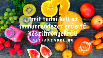 Amit tudni kell az immunrendszer erősítő készítményekről/ alexarendel.hu