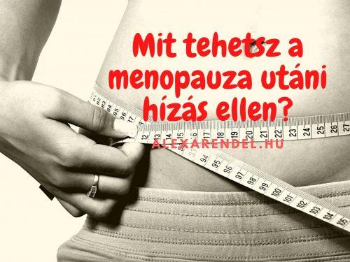 Mit tehetsz a menopauza utáni hízás ellen?/alexarendel.hu