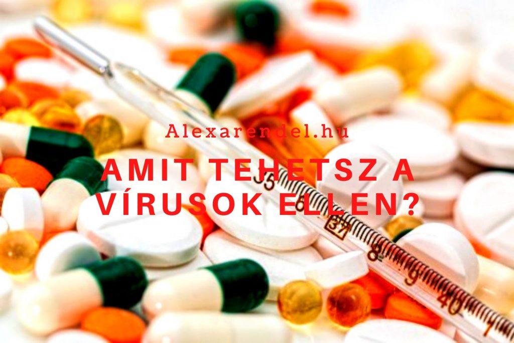 Amit tehetsz a vírusok ellen/ alexarendel.hu