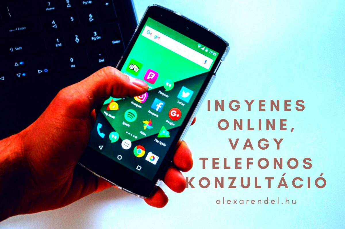 Ingyenes konzultáció/ alexarendel.hu