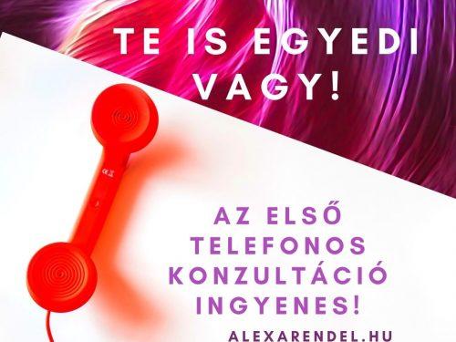 Ingyenes telefonos konzultáció/alexarendel