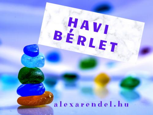 Havi Bérlet_alexarendel