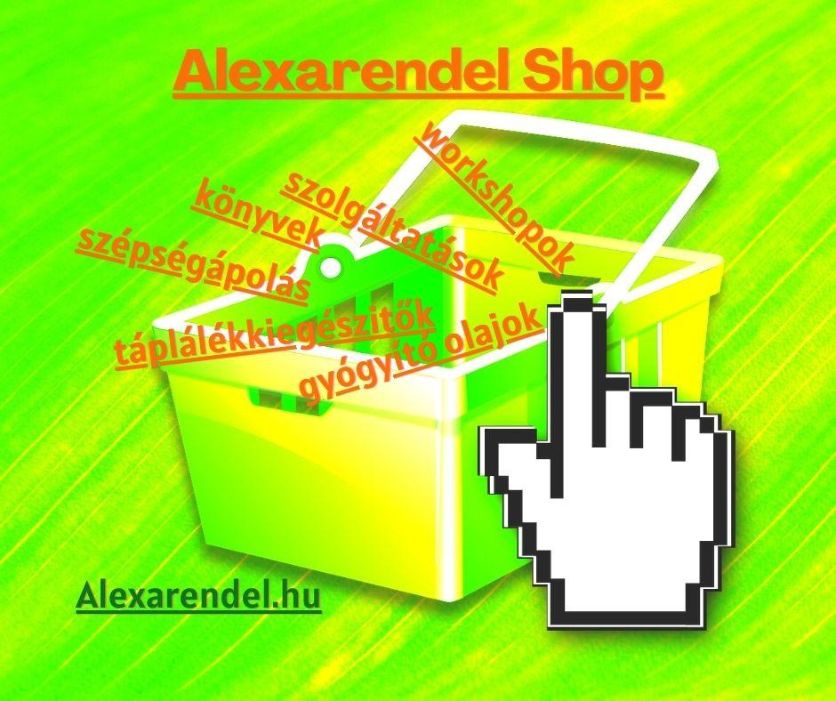 Alexarendel shop