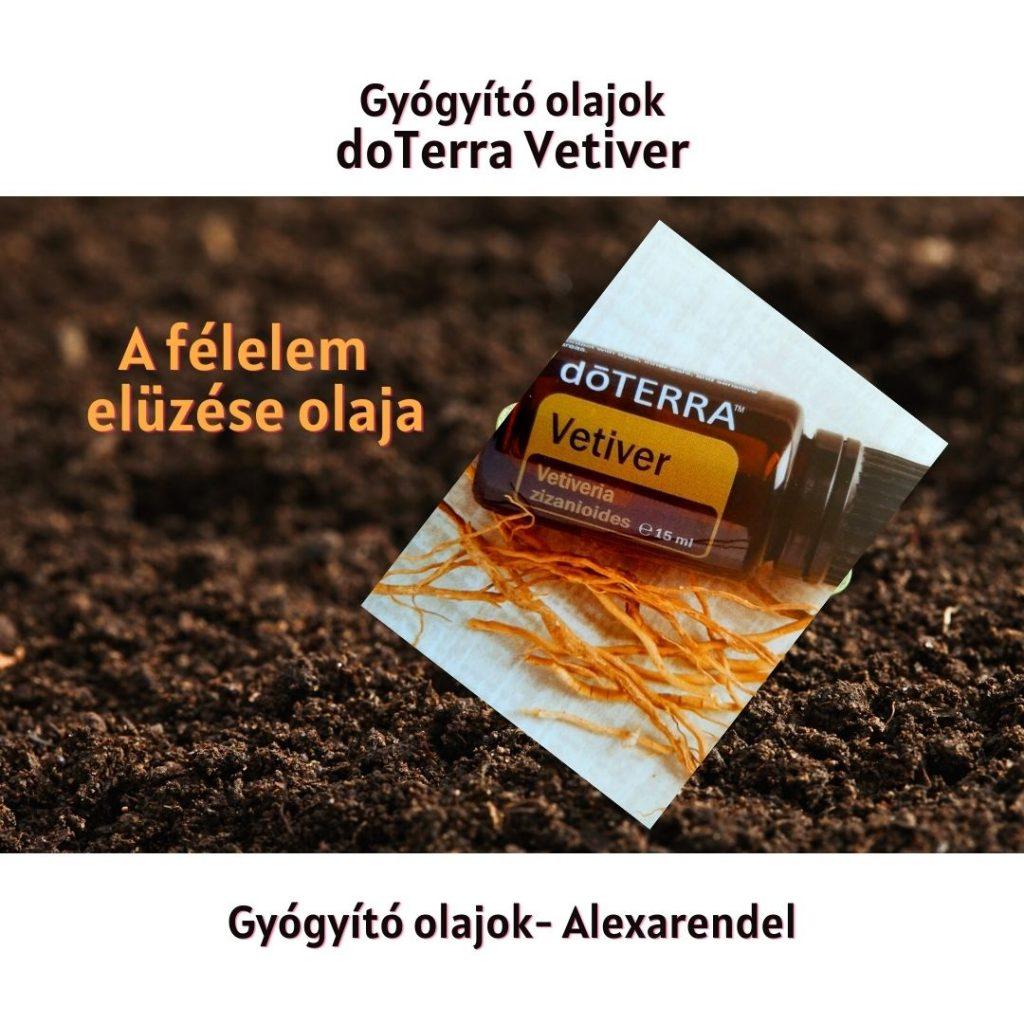 Gyógyító olajok doTerra Vetiver_alexarendel